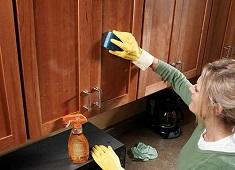 Эффективные средства для борьбы с жиром на кухонных поверхностях