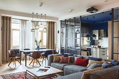 Особенности и рекомендации по дизайну квартиры с открытой планировкой