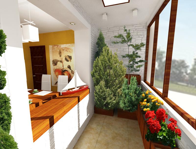 Балконы и лоджии: выбор отделки, мебели и декора, дизайнерск.