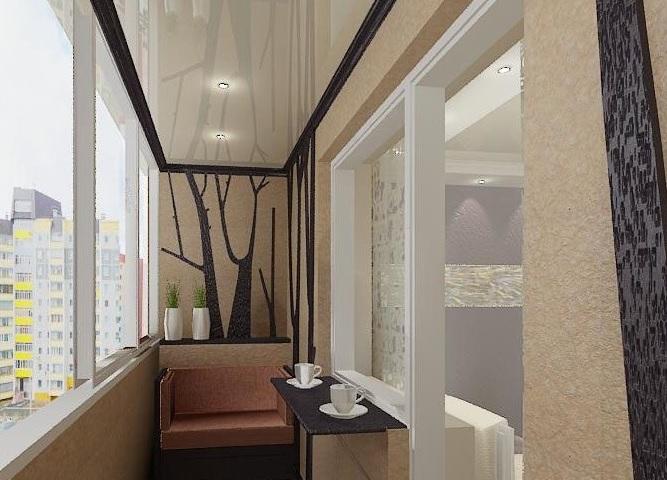 Отделка потолка на балконе или лоджии: какой вид выбрать.
