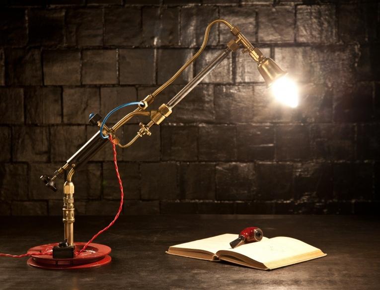Настольная лампа для стола своими руками