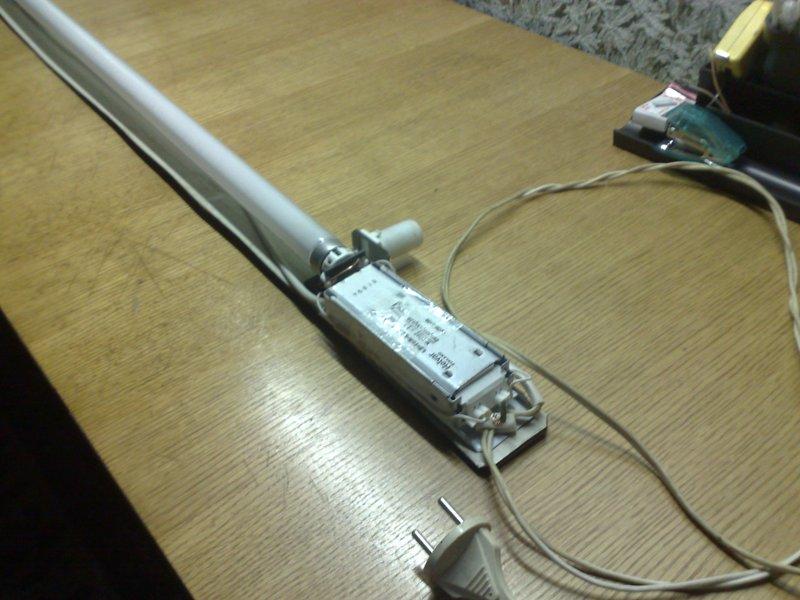 Ремонт ламп дневного света своими руками 814