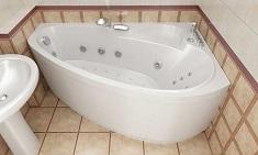 Какую форму акриловой ванны выбрать: виды и преимущества