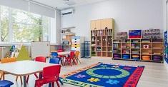 Как офррмить игровую комнату в детском саду с изучением английского языка