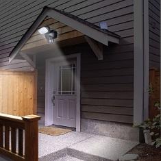 Как выбрать светодиодный прожектор для дачного участка: виды и особенности