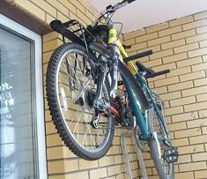 Хранение велосипеда в зимний период: способы и правила