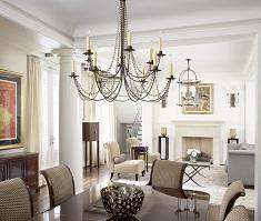 Как выбрать люстру в гостиную: стили, советы и особенности