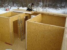 Этапы строительства дома из сип панелей: правила и рекомендации