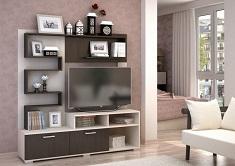 Какой стиль выбрать для мини-стенки в гостиную: классика или хай-тек