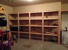 Как сделать стеллаж для гаража своими руками: этапы и особенности