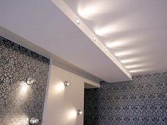 Как выбрать и установить встраиваемые светильники для натяжных потолков