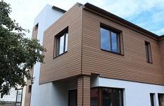 Сайдинг из древесно-полимерного композита для отделки фасада
